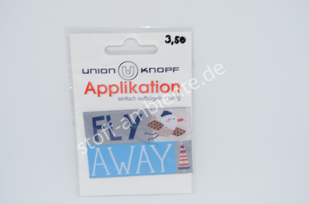 Applikation Union Knopf, Fly Away