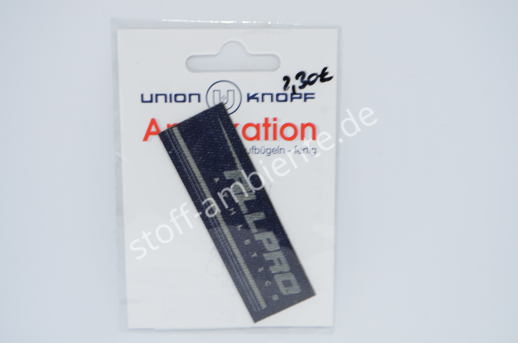 Applikation Union Knopf, Allpro