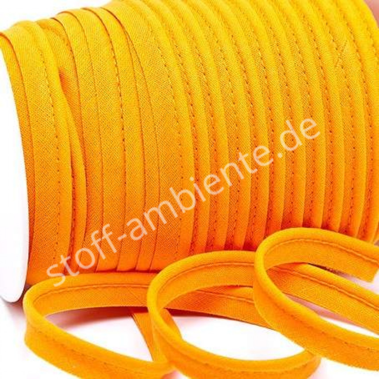 Paspelband uni orange-dunkel 71