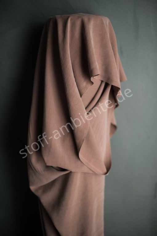 Tencel® Twill Merchant & Mills, England Farbe Rose dust